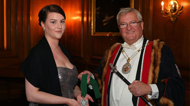 Joshua Ellis: Apprentice Jess Fraser recognised as most promising young person in the Textiles Industry